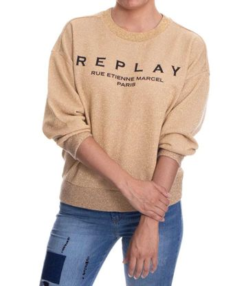 Buzo-Replay-Dorado-Talla-S