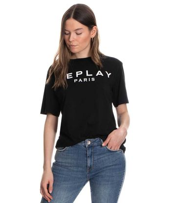 Camiseta-Replay-Negro-Talla-M