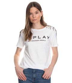 Camiseta-Replay-Blanco-Talla-M
