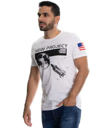 Camiseta-New-Project-Blanco-Talla-L