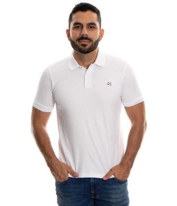 Polo-Chevignon-Blanco-Talla-L