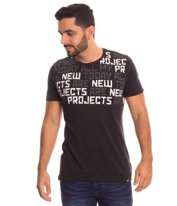 Camiseta-New-Project-Negro-Talla-L