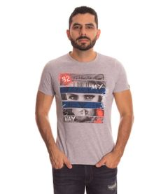 Camiseta-New-Project-Gris-Talla-L